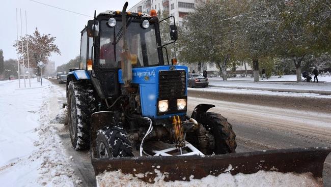 Мероприятия по уборке снега и наледи