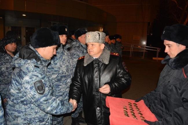 Самарские полицейские вернулись изЧечни вполном составе