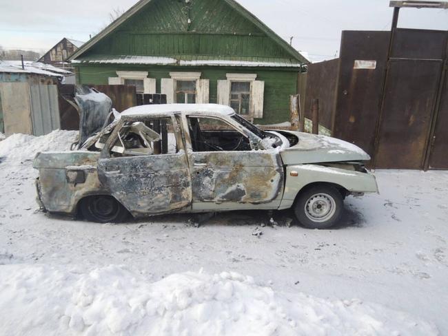 ВОренбурге схвачен подозреваемый вподжоге автомобиля