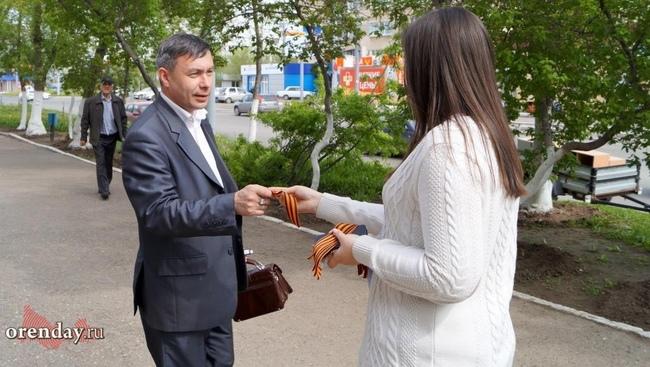 24апреля вИркутской области начнут раздавать георгиевские ленточки