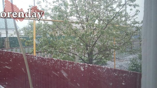 ВБашкирии в 1-ый день лета выпал снег