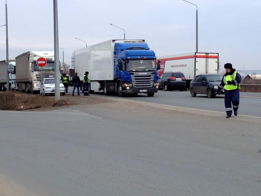 Протестный автопробег: дальнобойщики вновь проедут подорогам Оренбурга