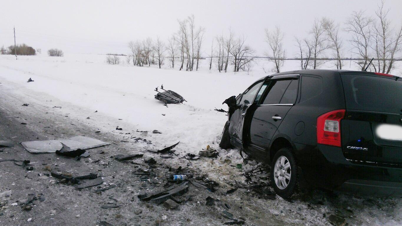 В ужасной трагедии натрассе Оренбург— Казань погибли три человека