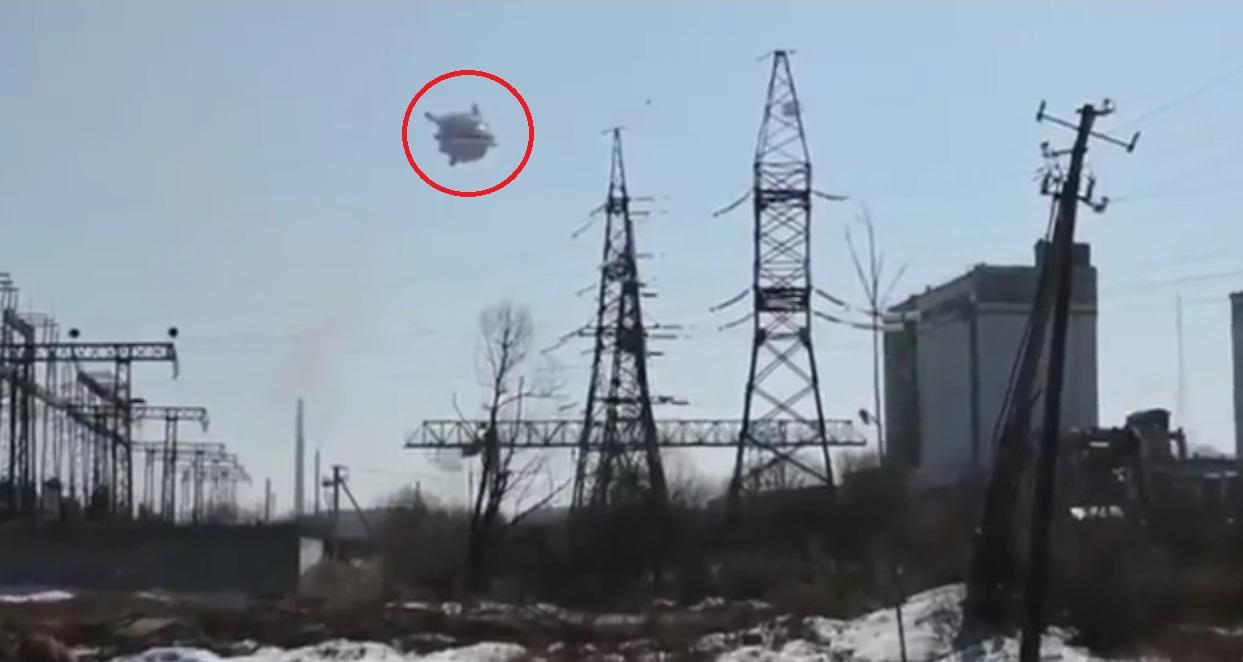 Награнице Российской Федерации  иКазахстана навидео засняли три НЛО