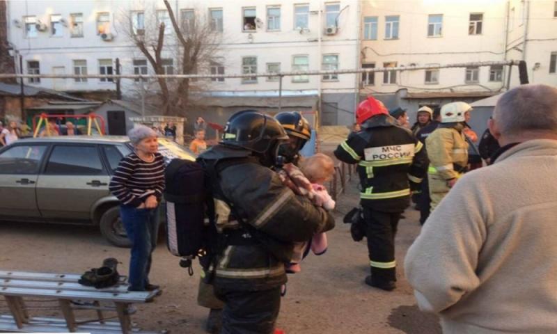 ВОренбурге впроцессе пожара погибла женщина
