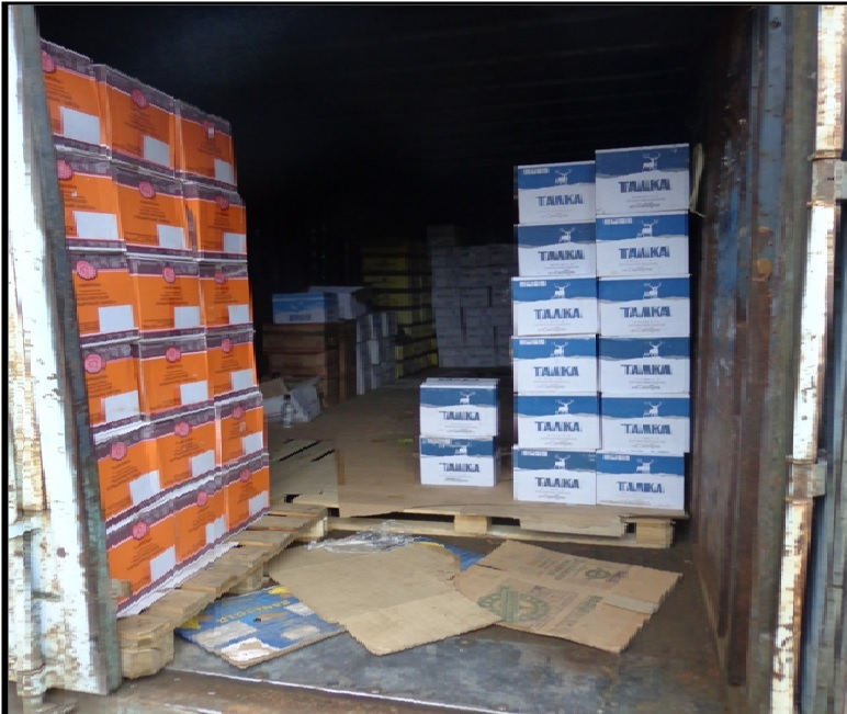 ВСорочинске изъята алкогольная продукция на8 000 000 руб.