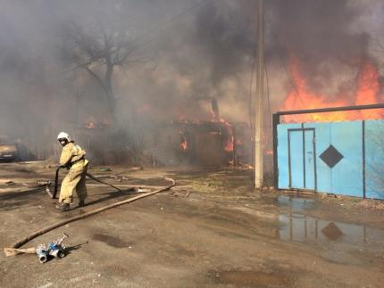 По факту пожара в Орске могут возбудить уголовное дело